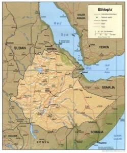 Ethiopia map
